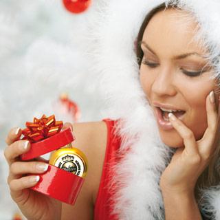 Weihnachtskugel bedrucken